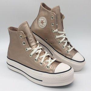 Converse CTAS LIFT HI particle beige/white